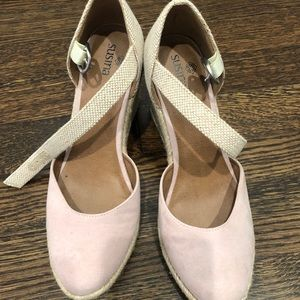 Nude Pink Sandals